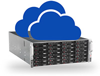 Broadberry storage server with clouds