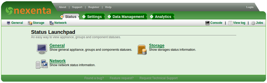Nexenta Storage Solutions