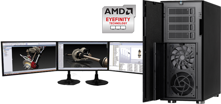 AMD Eyefinity Graphics Workstations