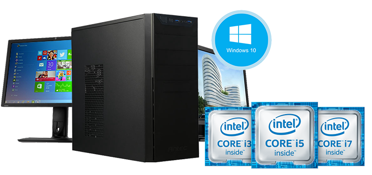 Windows 10 Workstation powered by Intel Processors