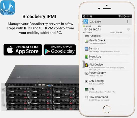 Broadberry FT77CB7079 GPU Server