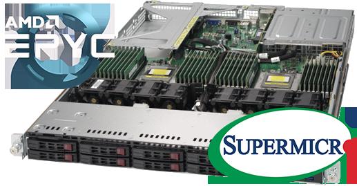 AMD EPYC 7000 Series Supermicro SuperServers