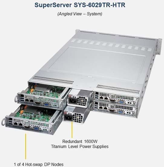 Supermicro SYS-6029TR-HTR SuperServer | 6029TR-HTR