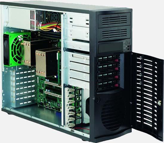 Pedestal/Tower Server, Intel Xeon Scalable Processor Series