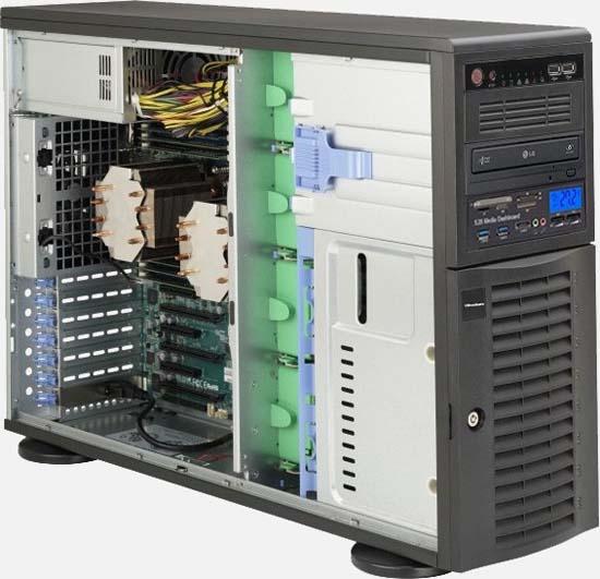 AMD Epyc Dual Processor Series Workstation
