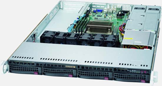 Series Rackmount Server With 4 Sata2 Drives Other Circuits Gt Switch Push On Off Electronic