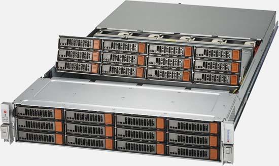 Supermicro Superstorage Server 6028r E1cr24n Ssg 6028r